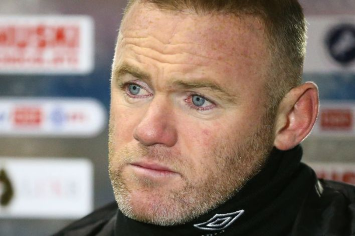 Derby County make decision on Wayne Rooney's future after showdown talks