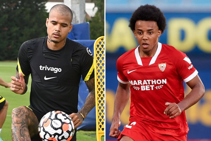Chelsea 'offer Kenedy to Sevilla as new makeweight in attempt to sign Kounde'