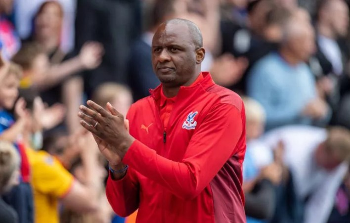 Crystal Palace boss Patrick Vieira still has significant transfer funds for the rest of the summer