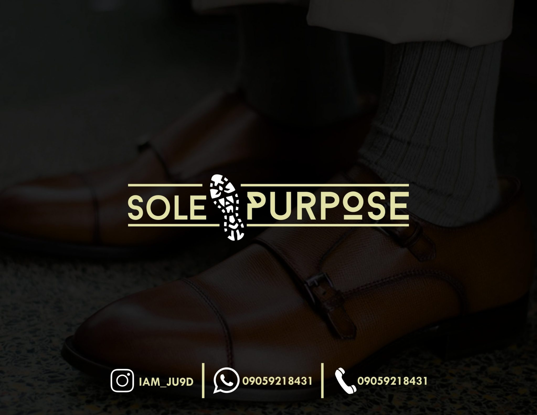 """It is all spelt out. So, do you have a """"Sole Purpose""""?"""