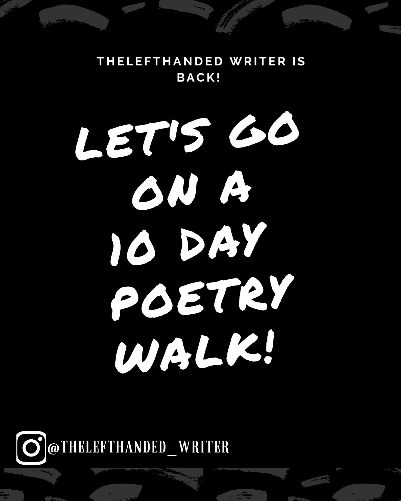 TheLefthandedwriter's 10 Day Poetry Walk – Pain