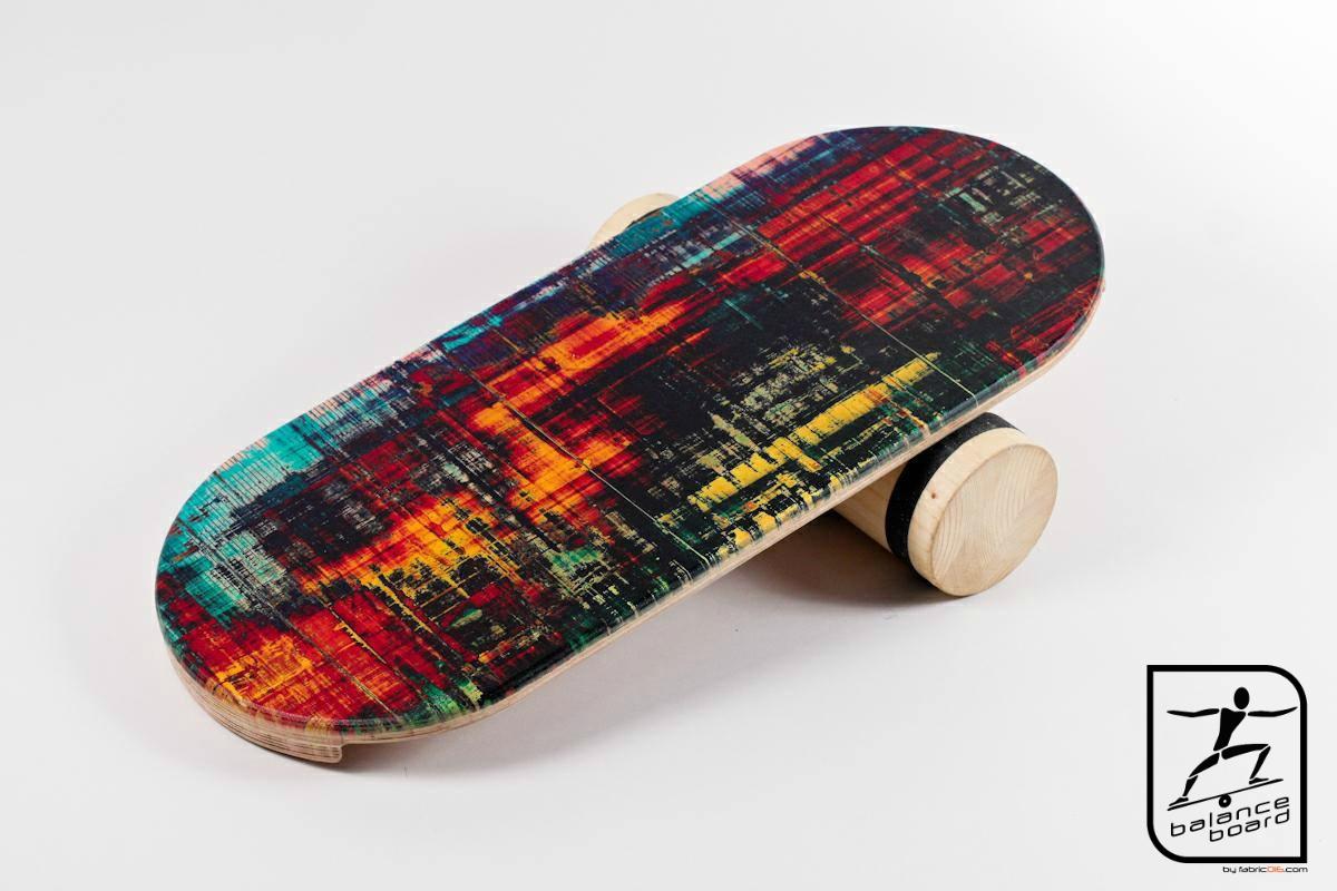 Balance Board cu cilindru pentru exerciții de echilibru
