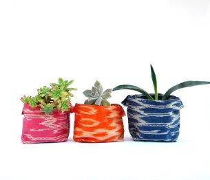 abaca fabric planters