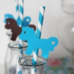 paille-poney-turquoise-marron