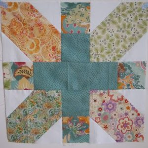 """Tutorial for 20"""" x & + block by fabricandflowers 