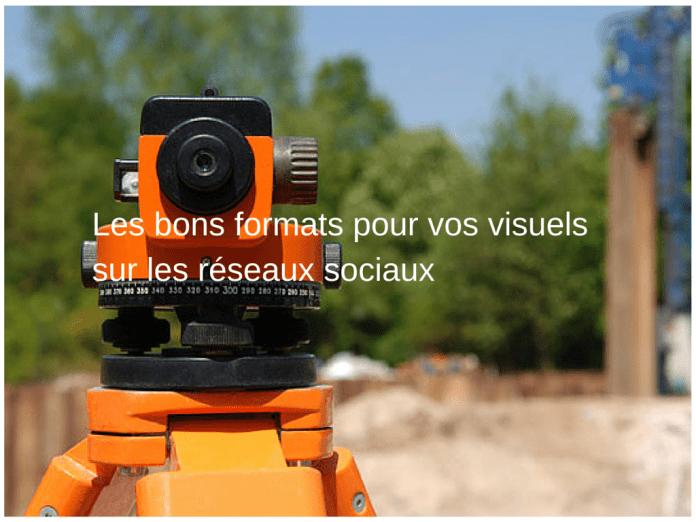 Tous les formats d'images 2015 pour les réseaux sociaux