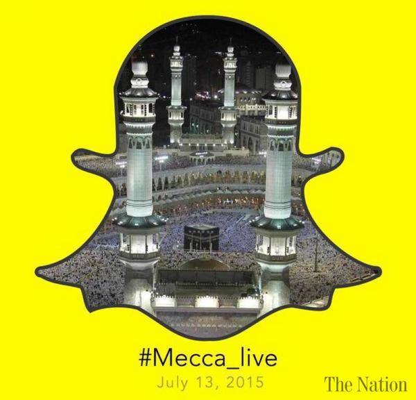 Snapchat, la Mecque et le contenu