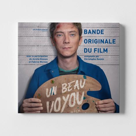 Christophe Danvin Un beau Voyou Pochette BO