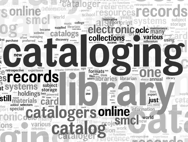 Cataloging - Tag cloud