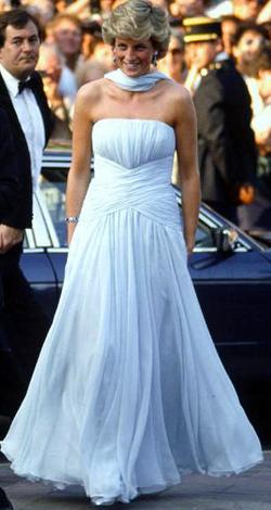 1987 dress, Cannes.