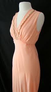 1940s night-dress with surplice