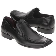 Black, elasticated sides, clumpy men's shoes