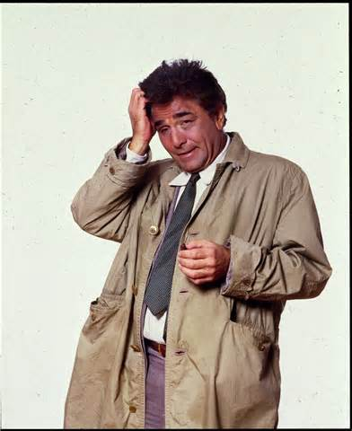 Columbo in an old mac