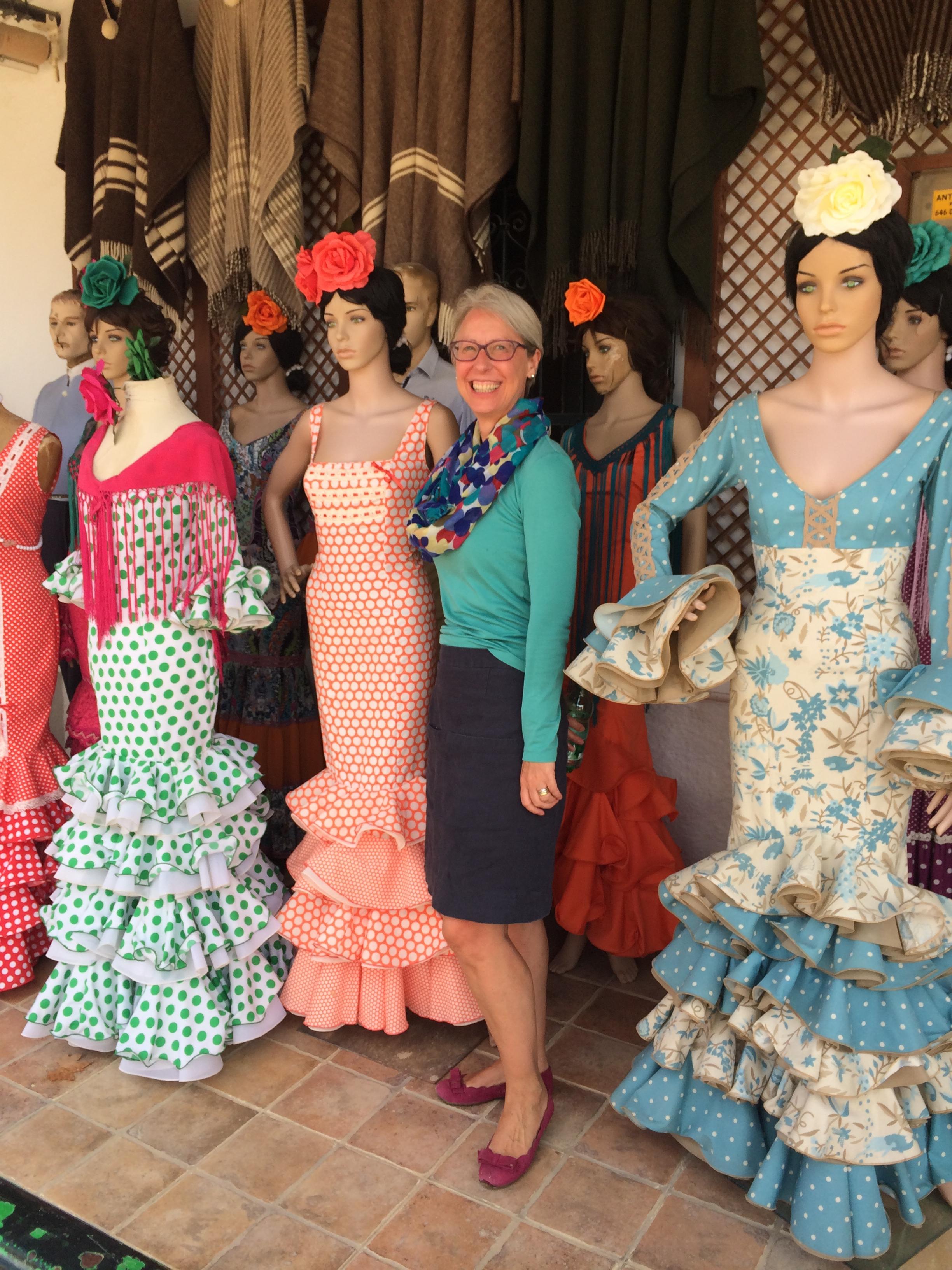 Rocio flamenco dresses