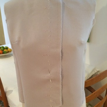 The 60cm Vest – using a remnant to make a waistcoat