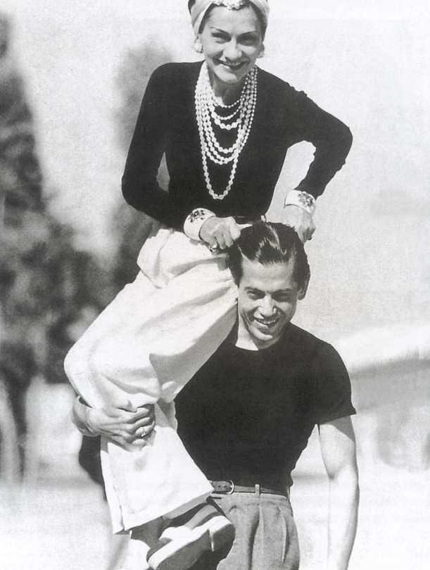 Coco Chanel - Dramatic dresser