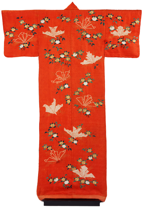 Red Kimono, V&A