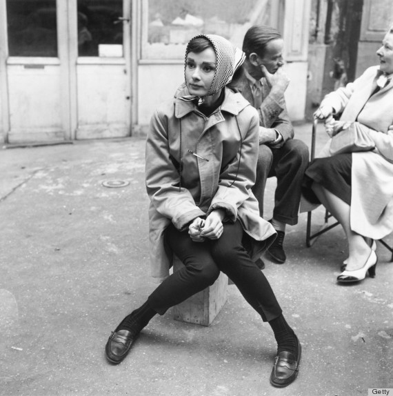 Audrey Hepburn - Gamine style