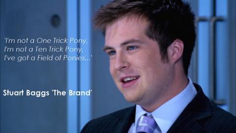 Stuart Beggs - the Brand
