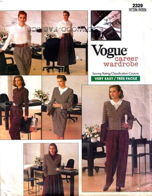 1989 Vogue Career Wardrobe 2329