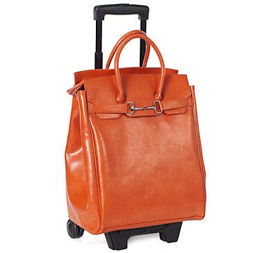orange roller bag