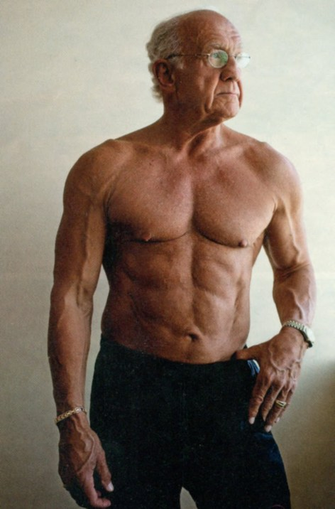 72 year old body builder Jeff Lite