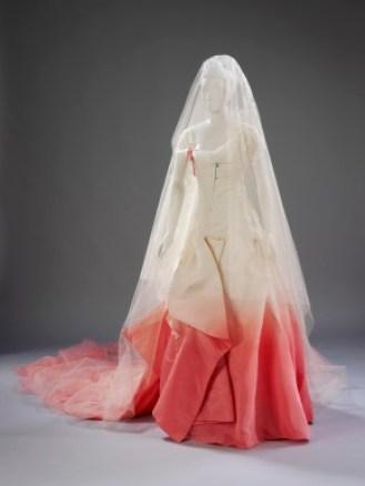John Galliano Gwenn Stefani wedding dress