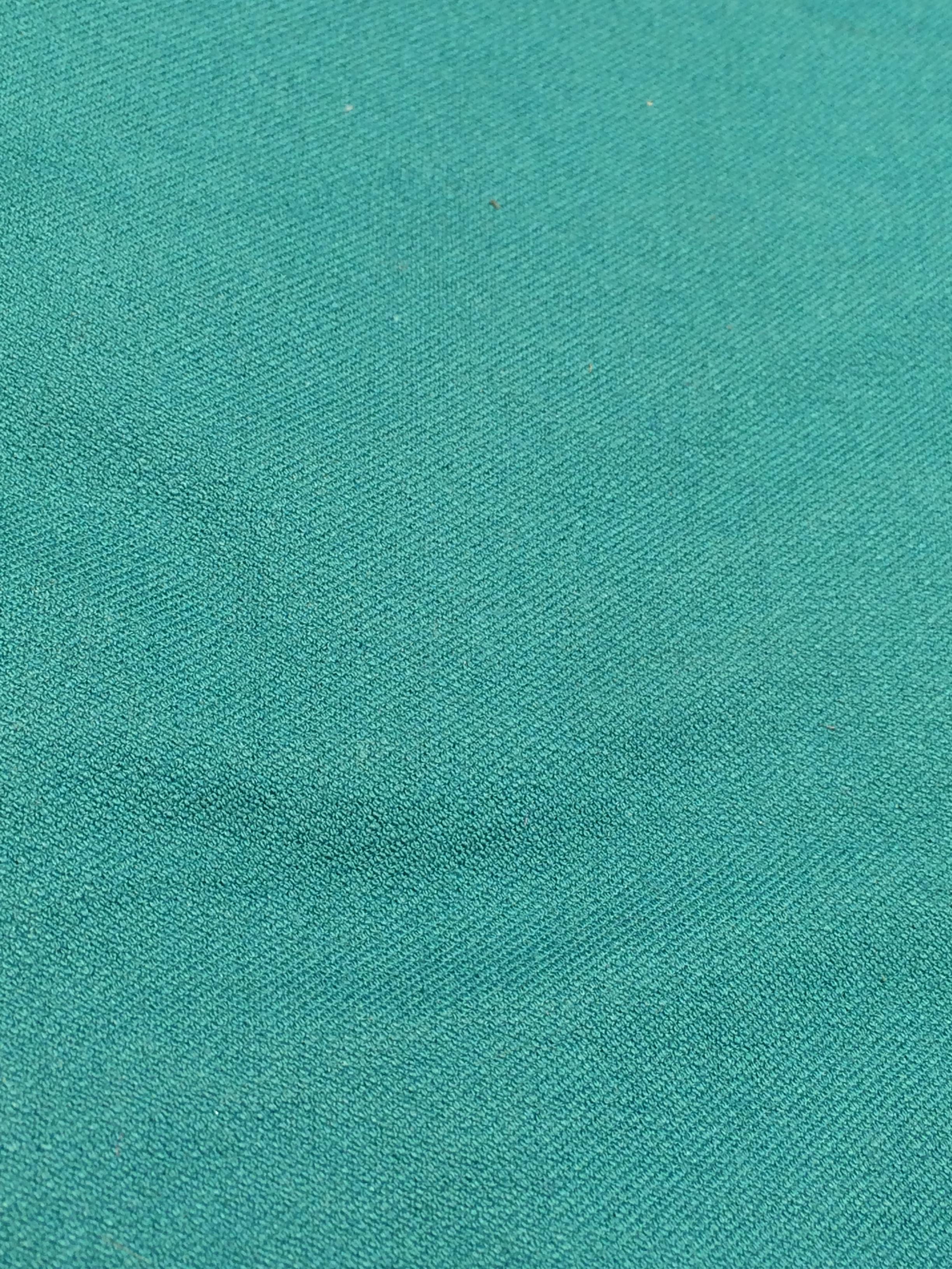 turquoise cotton with elastane