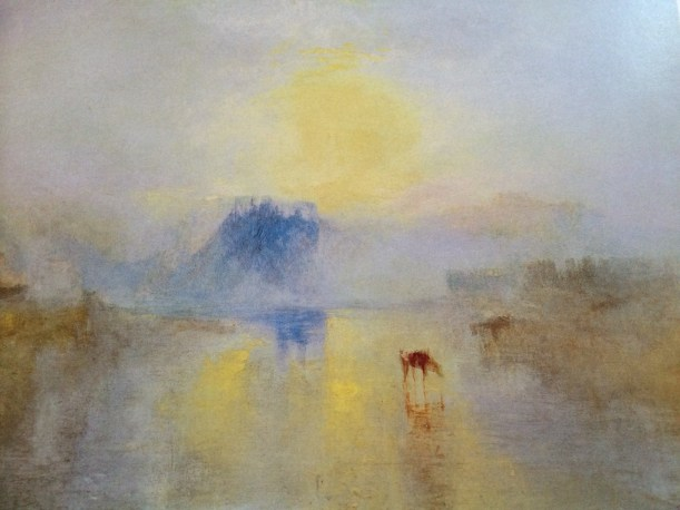 Turner, Norham Castle, Sunrise c1845