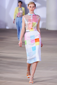 """My """"Inspired by Preen"""" shell top is finally finished"""