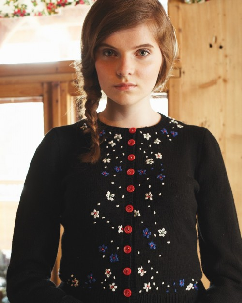 Debbie Bliss embroidered jumper