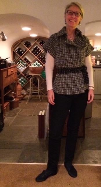 Designing a Kimono-sleeved jacket