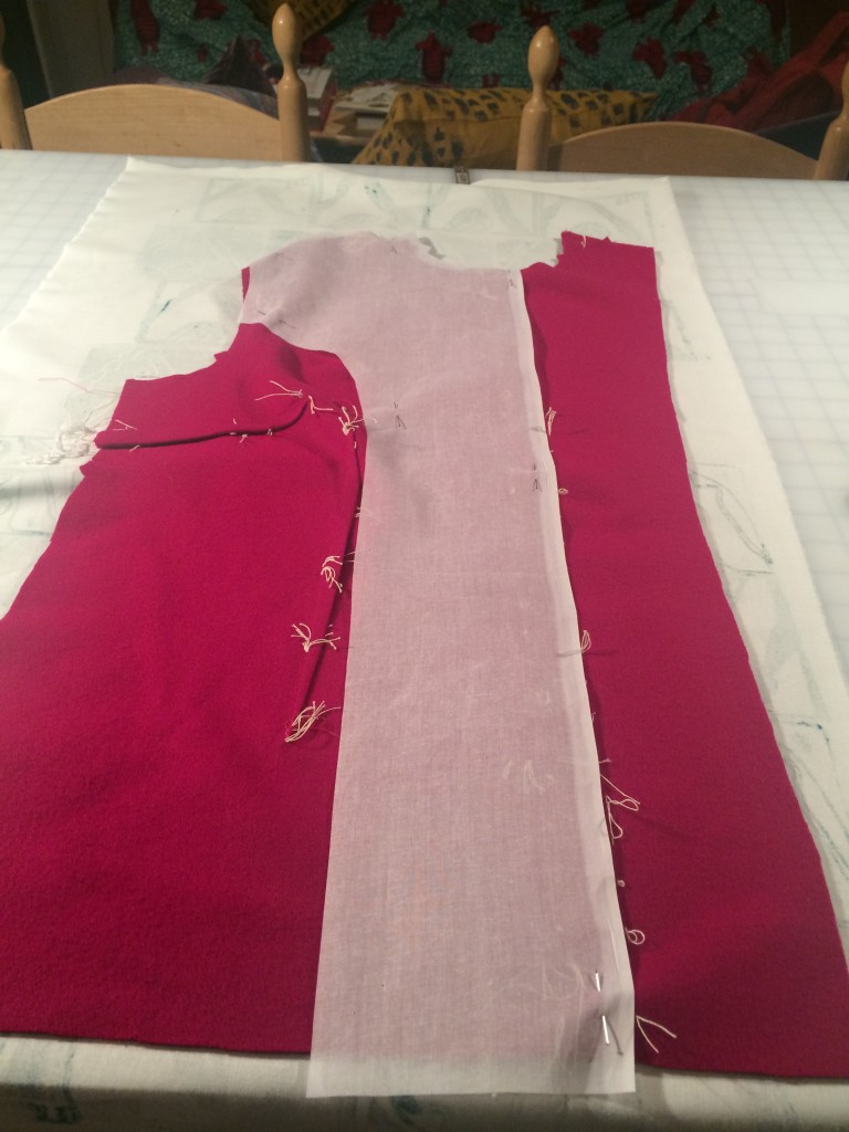 interfacing a tailored jacket