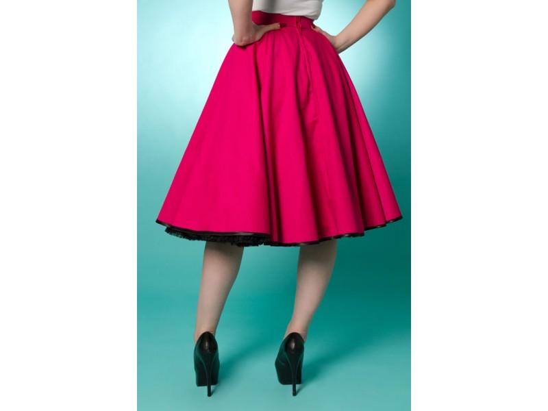 Mini Length Circular Skater Skirt