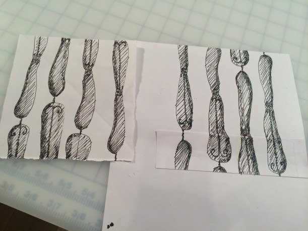 Sketches of knife