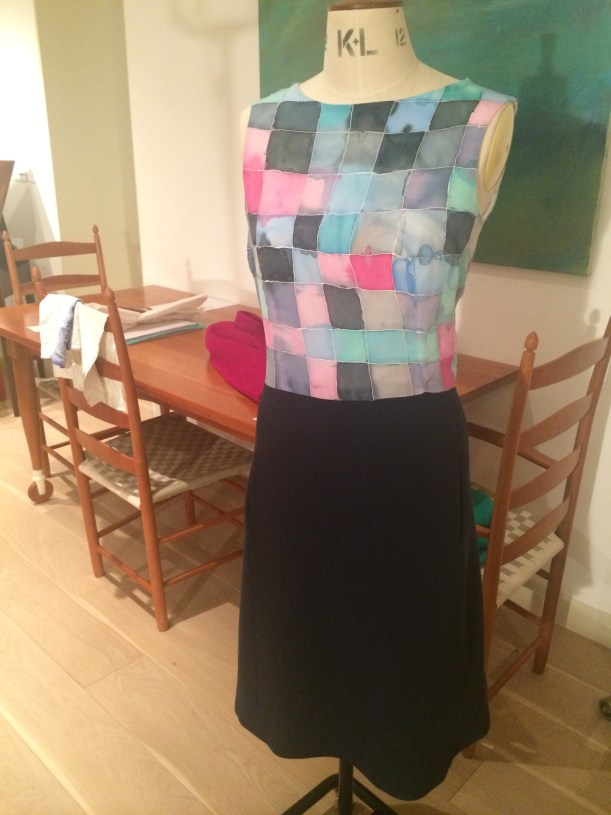 Vogue 1650 Nina Ricci Skirt with painted silk camisole