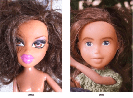 Bratz doll make under