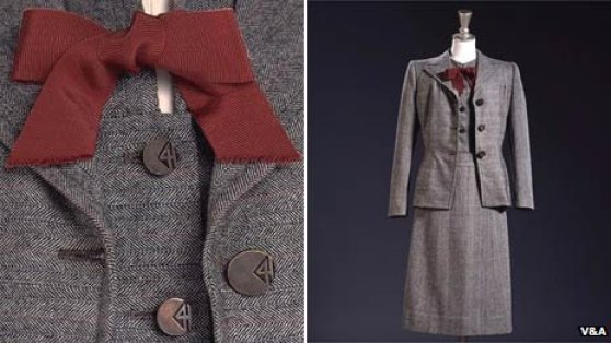 Digby Morton suit with cc41 buttons