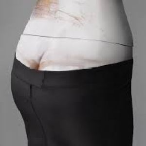 Bumster trousers