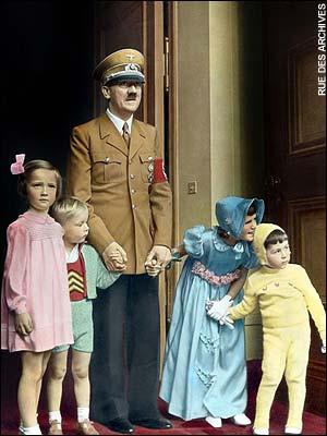 Hitler on his birthday