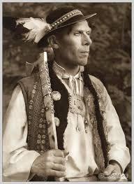Man in Slovakian costume