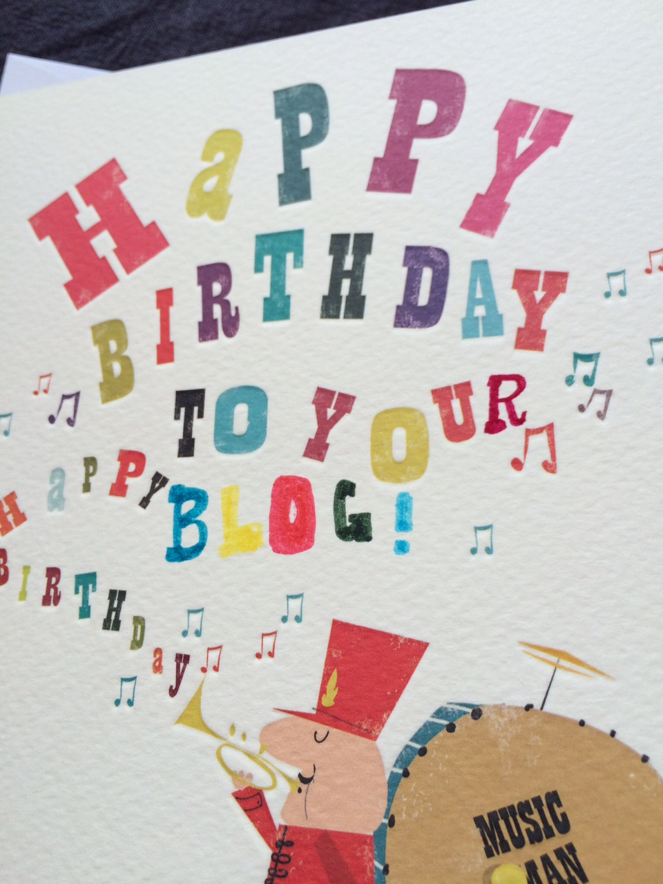 Blog Birthday card