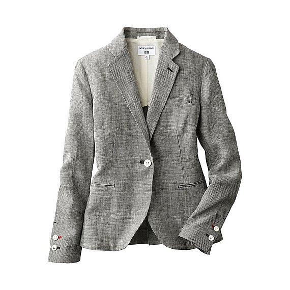 Classic linen jacket