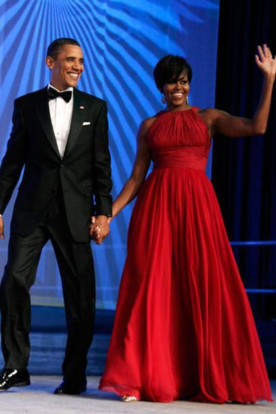 Michelle Obamas Evening Dresses Fabrickated
