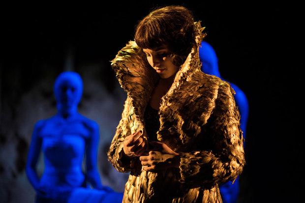 """Dianne Argon in """"McQueen"""" coat"""
