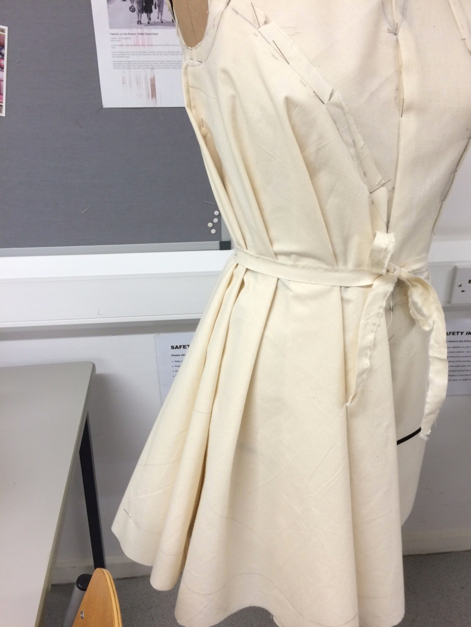 Belted tent dress pattern