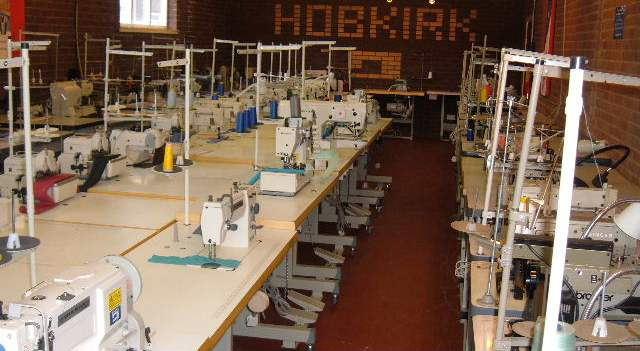 Hobkirk's showroom