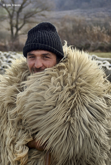 Woolen coat by Udo Krauss
