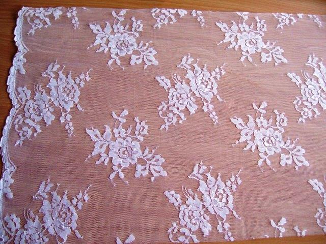 Polyester chantilly (around £4.50)