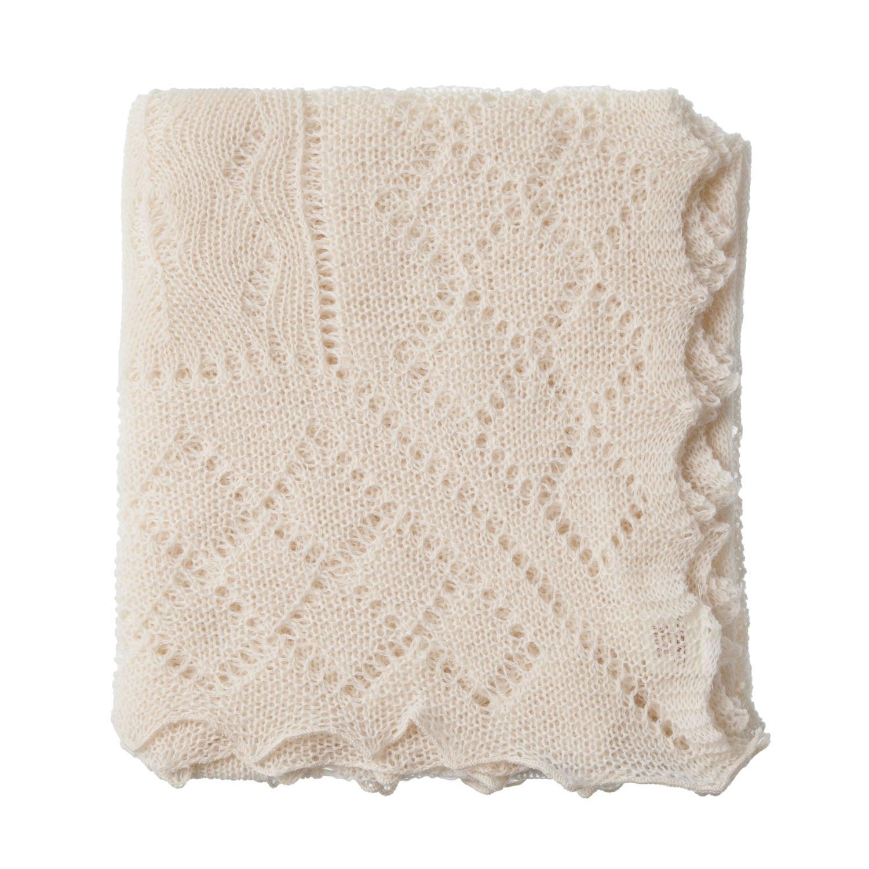 Shetland knitted lace shawl